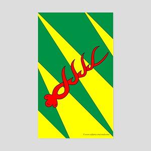 Outlands War Ensign Rectangle Sticker