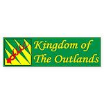 Outlands War Ensign Bumper Sticker (50 pk)
