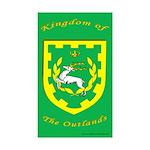 Outlands Rectangle Sticker 50 pk)