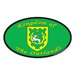 Outlands Oval Sticker (50 pk)