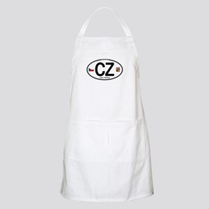Czech Republic Euro Oval BBQ Apron