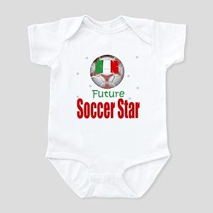 Future Soccer Star Italy Baby Infant Bodysuit
