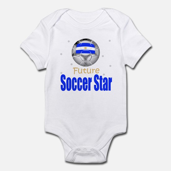 Future Soccer Star Argentina Baby Infant Bodysuit