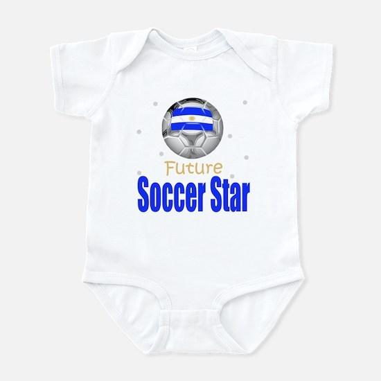 Future Soccer Star Argentina Baby Infant Bodysuit