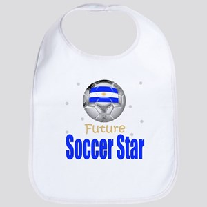 Future Soccer Star Argentina Baby Infant Bib