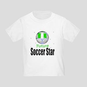 Future Soccer Star Nigeria Toddler T-Shirt