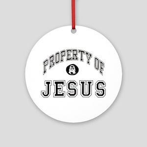 Property of Jesus Ornament (Round)