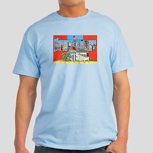 Montgomery Alabama Greetings Light T-Shirt