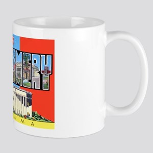 Montgomery Alabama Greetings Mug