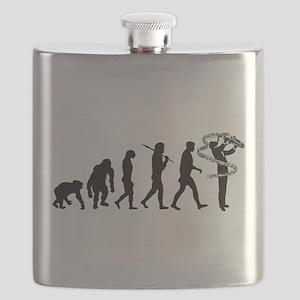 Saxophone Player Flask