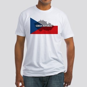 Czech Republic Flag Extra Fitted T-Shirt