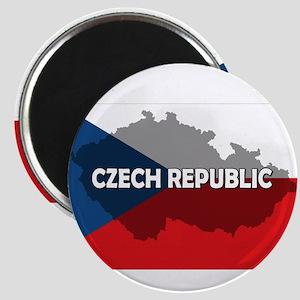 Czech Republic Flag Extra Magnet