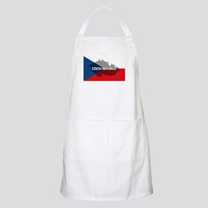 Czech Republic Flag Extra BBQ Apron