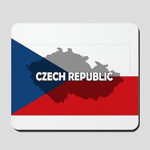 Czech Republic Flag Extra Mousepad