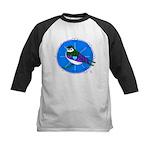 Violet-green Swallow Kids Baseball Jersey