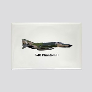 F-4 Phantom II Rectangle Magnet
