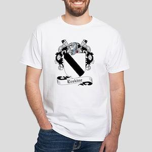 Erskine Family Crest White T-Shirt
