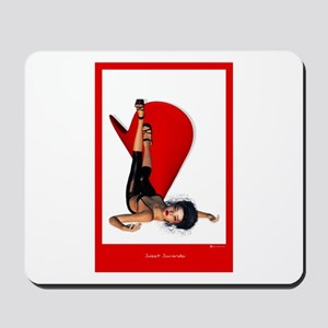 Sweet Surrender red Mousepad