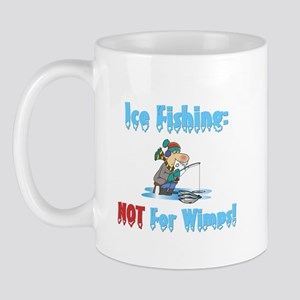 Ice Fishing not for wimps Mug