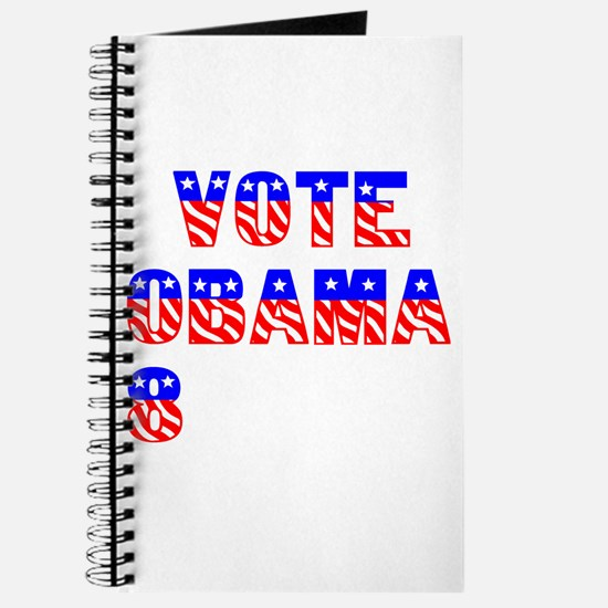 """Vote Obama '08"" Journal"