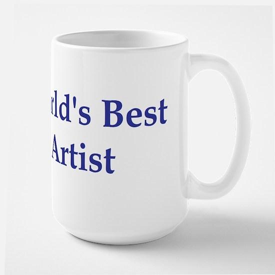 World's Best Artist Large Mug