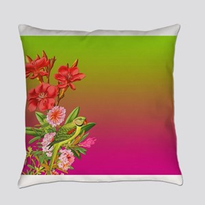Bouquet on Gradient Everyday Pillow