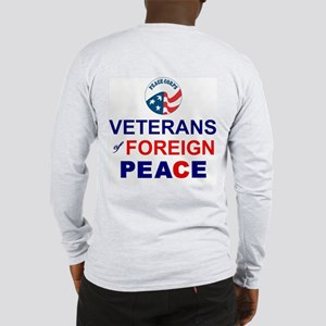 Veterans of Foreign Peace Long Sleeve T-Shirt