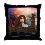 Angel #205 London : Throw Pillow