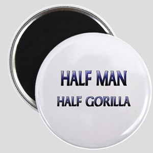 Half Man Half Gorilla Magnet