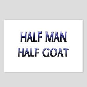 Half Man Half Goat Postcards (Package of 8)
