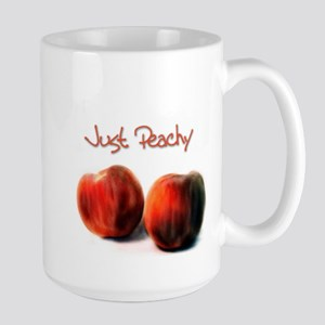 Just Peachy - Large Mug