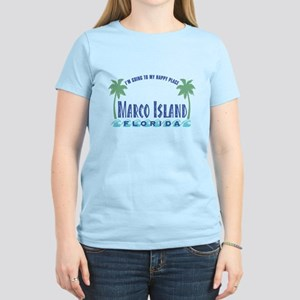 Marco Island Happy Place - Women's Light T-Shirt