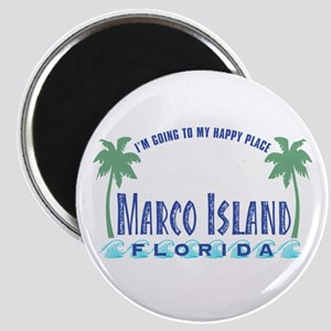 Marco Island Happy Place - Magnet