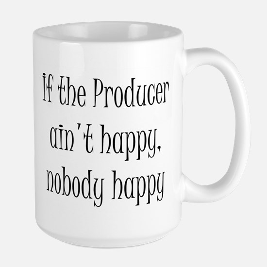 Producer happy Large Mug