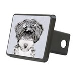 TIbetan Terrier Rectangular Hitch Cover