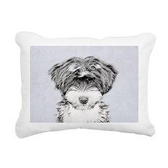 TIbetan Terrier Rectangular Canvas Pillow