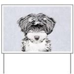 TIbetan Terrier Yard Sign