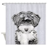 TIbetan Terrier Shower Curtain
