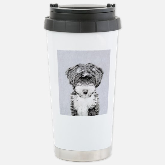 TIbetan Terrier Stainless Steel Travel Mug