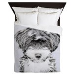 TIbetan Terrier Queen Duvet