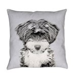 TIbetan Terrier Everyday Pillow