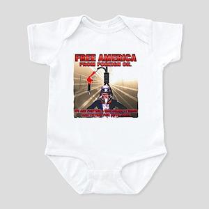 anti foriegn oil Infant Bodysuit
