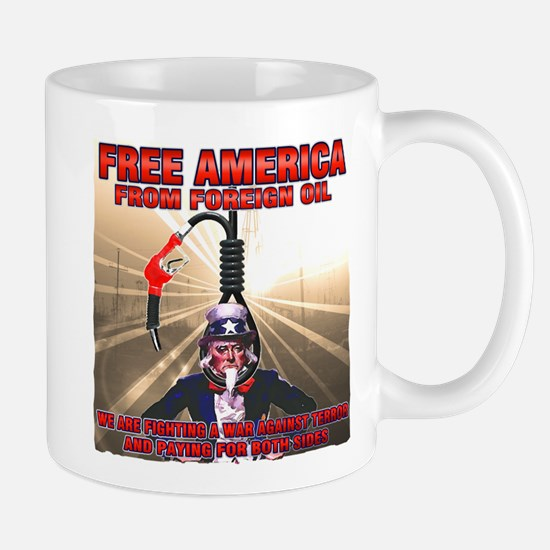 anti foriegn oil Mug