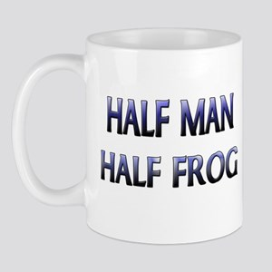 Half Man Half Frog Mug