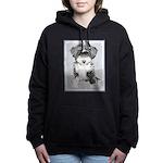 TIbetan Terrier Women's Hooded Sweatshirt