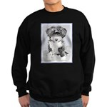 TIbetan Terrier Sweatshirt (dark)