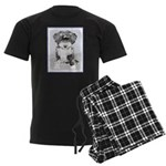 TIbetan Terrier Men's Dark Pajamas