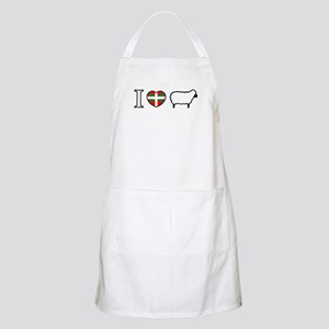 I <heart> Sheep BBQ Apron