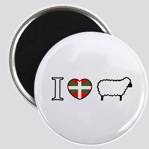 I <heart> Sheep Magnet