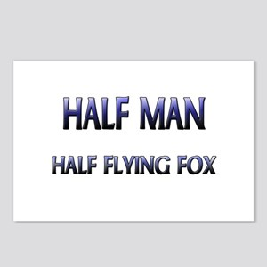 Half Man Half Flying Fox Postcards (Package of 8)